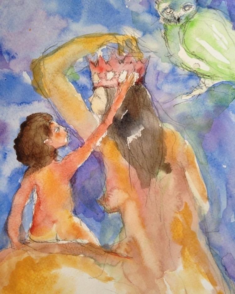 give crown - love, mother, child - arnabaartz | ello
