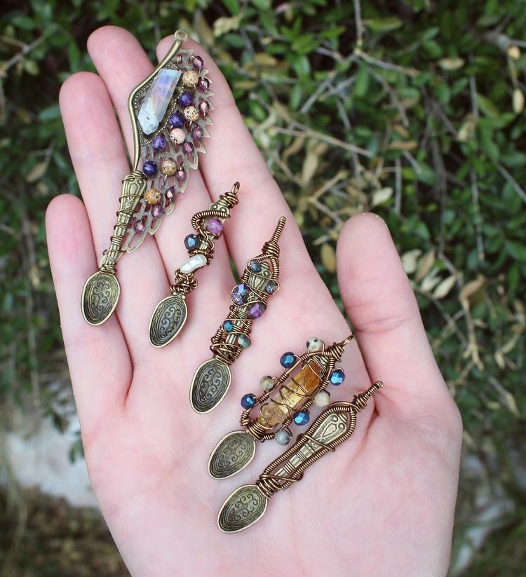 mini spoon designs playing - handmade - moongoddessvibes | ello