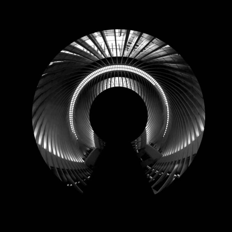 highcontrast, blackandwhite, abstract - waveformtv | ello