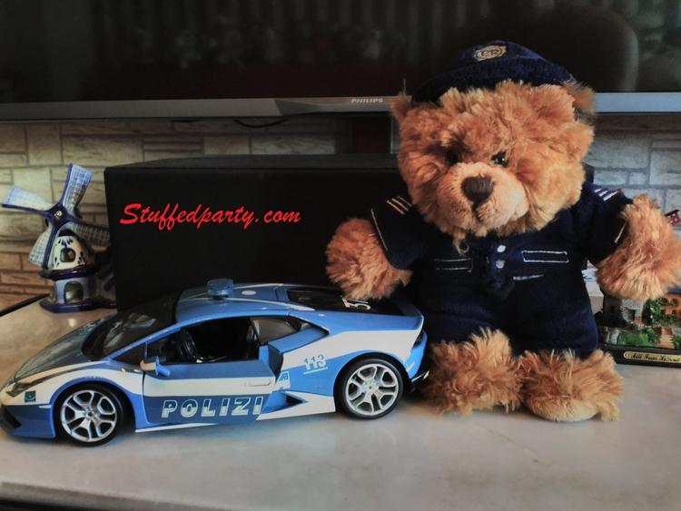 teddy,, teddybear,, toys,, police, - rooster64 | ello