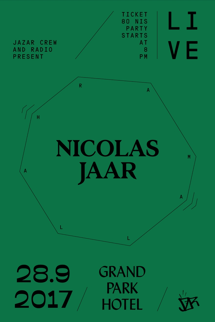 NICOLASJAAR, RAMALLAH, 2017, LIVE - saeed | ello