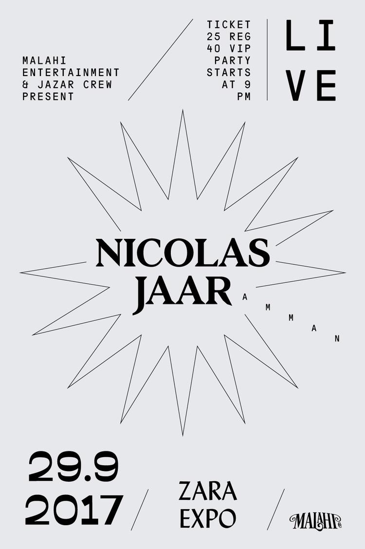 NICOLASJAAR, AMMAN, 2017, LIVE - saeed | ello