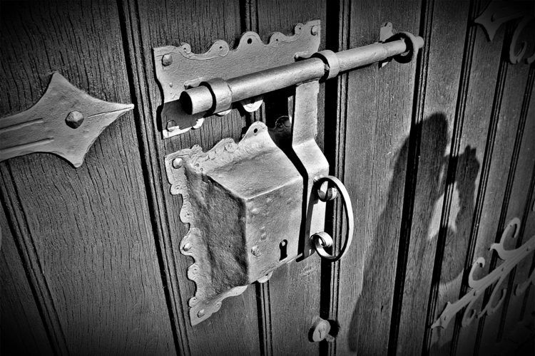 door lock - blackandwhitephotography - borisholtz | ello