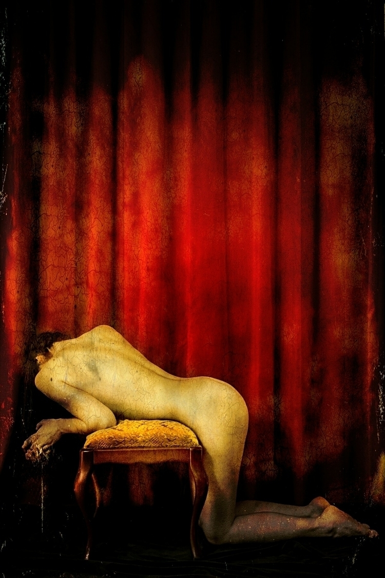 redcurtain, bench, fetish, fineart - artisrebellion | ello