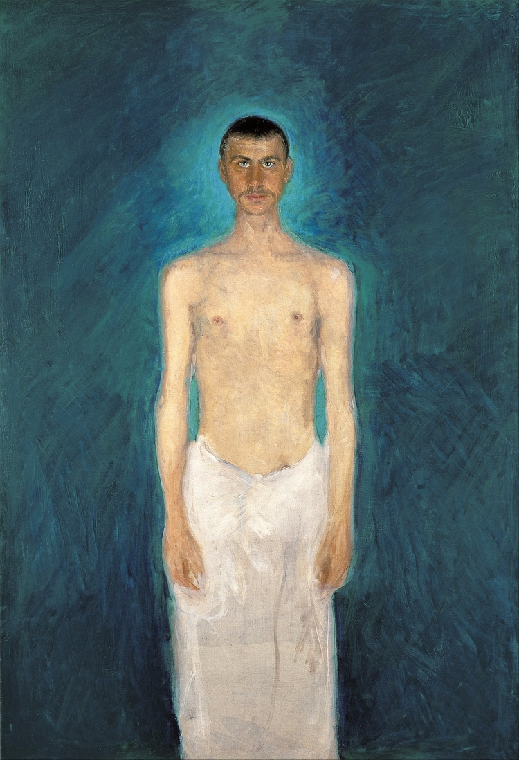 "Richard Gerstl ""Semi-Nude (1902 - valosalo   ello"