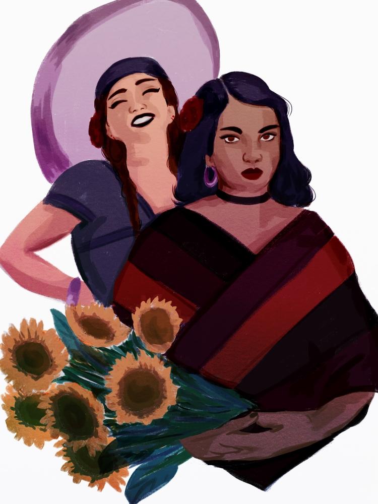 Daily drawing - mexican, illustration - cariguevara | ello