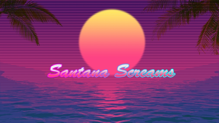 Santana Screams - bad, colors - white_hannya | ello