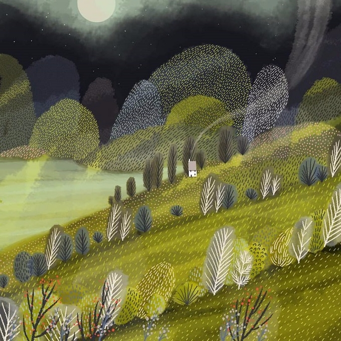 Magical landscapes Jane Newland - sandraapperloo | ello