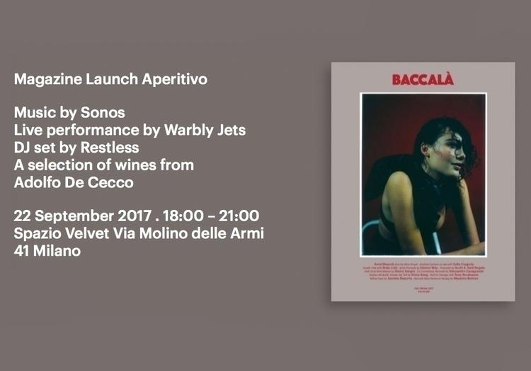 Ciao! proud announce launch bi - rivistabaccala | ello
