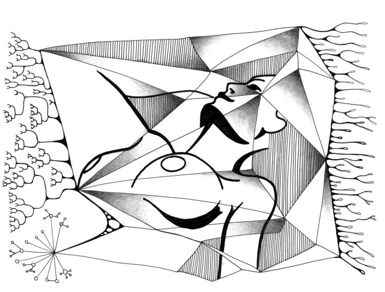 Sleeping analysis - Ink, graphi - robert_bentley   ello