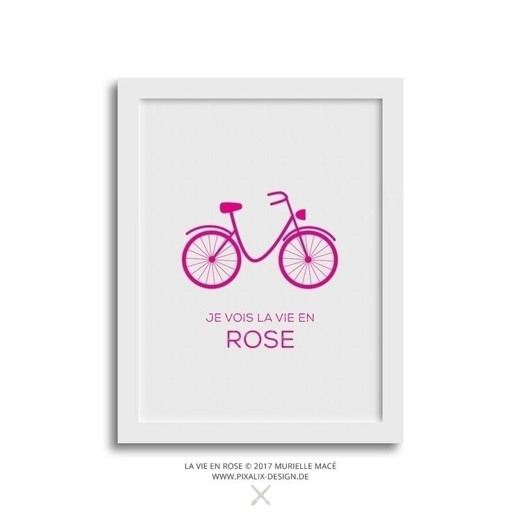 Coming - La vie en rose Fine Ar - pixalixdesign | ello