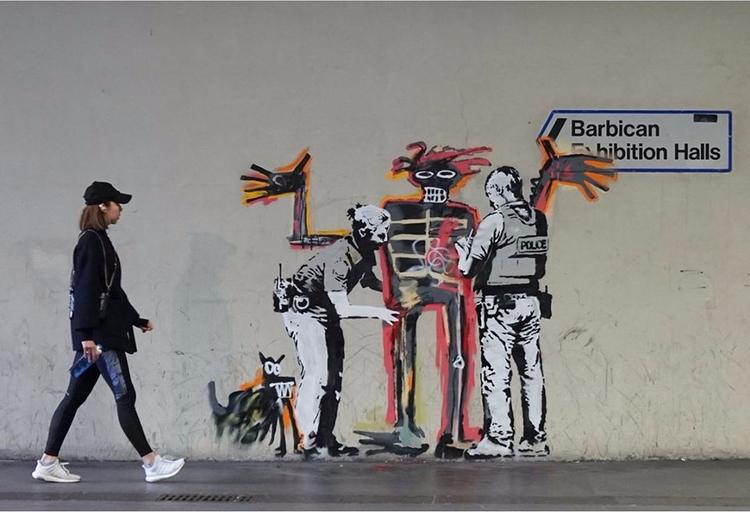 Banksy Murals Pay Homage Basqui - valosalo | ello