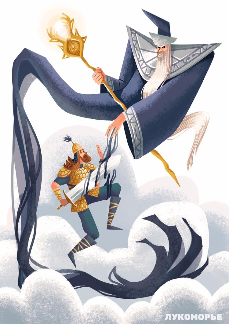 concept Wizard Knight famous ru - elinanovak | ello