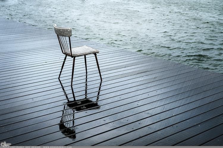 Vintage left cool kitchen chair - dangrabbit-photography   ello