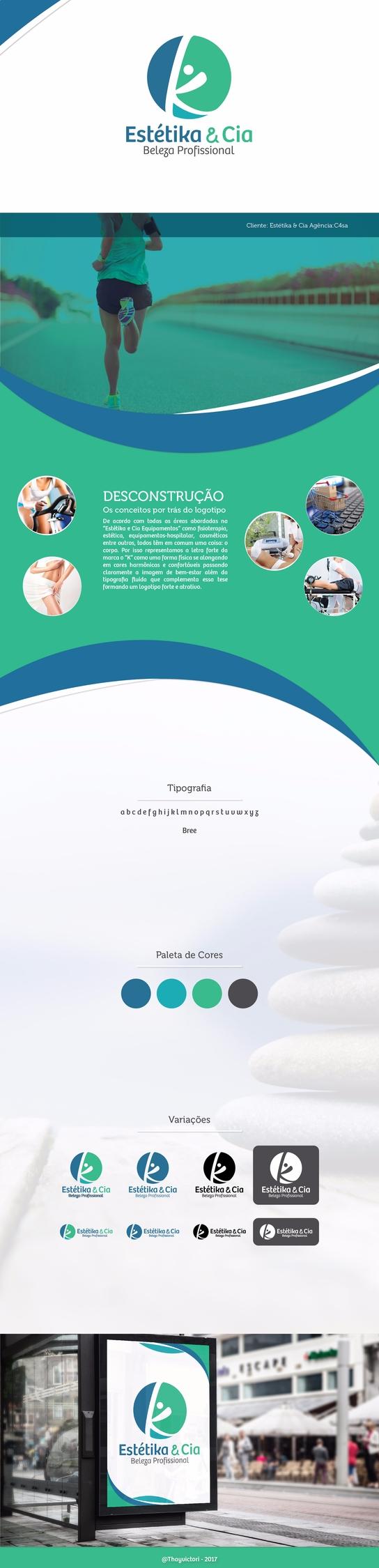 Branding Estétika Cia - viithay | ello