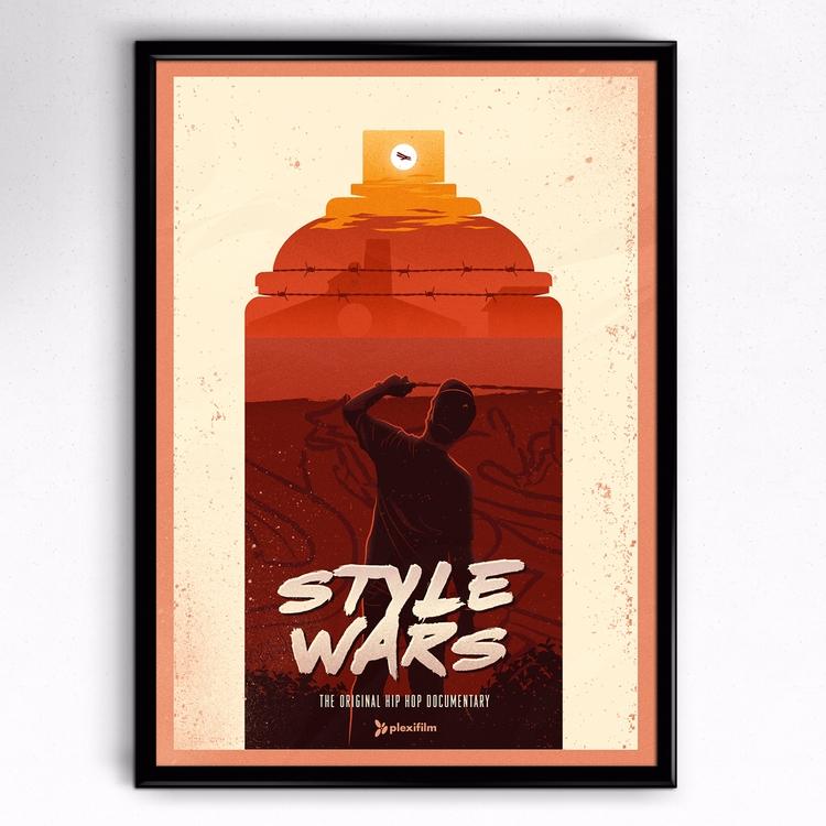 Style Wars poster - graffiti, art - medoks | ello