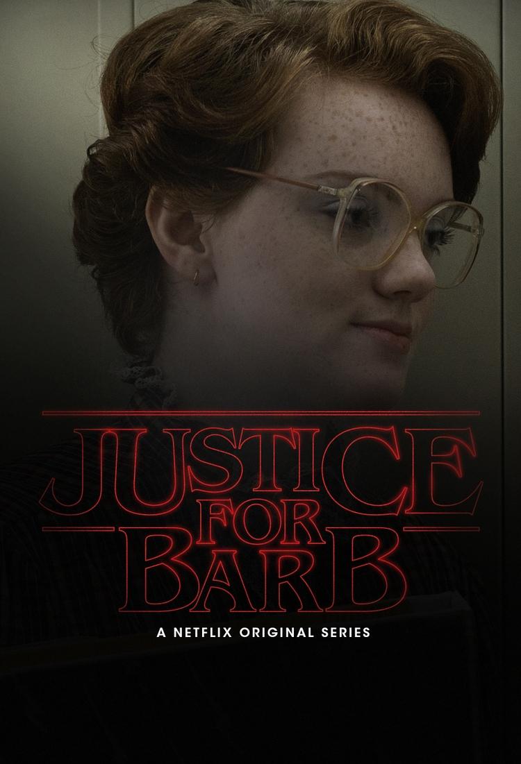 Justice Barb poster - mauriciobrito | ello