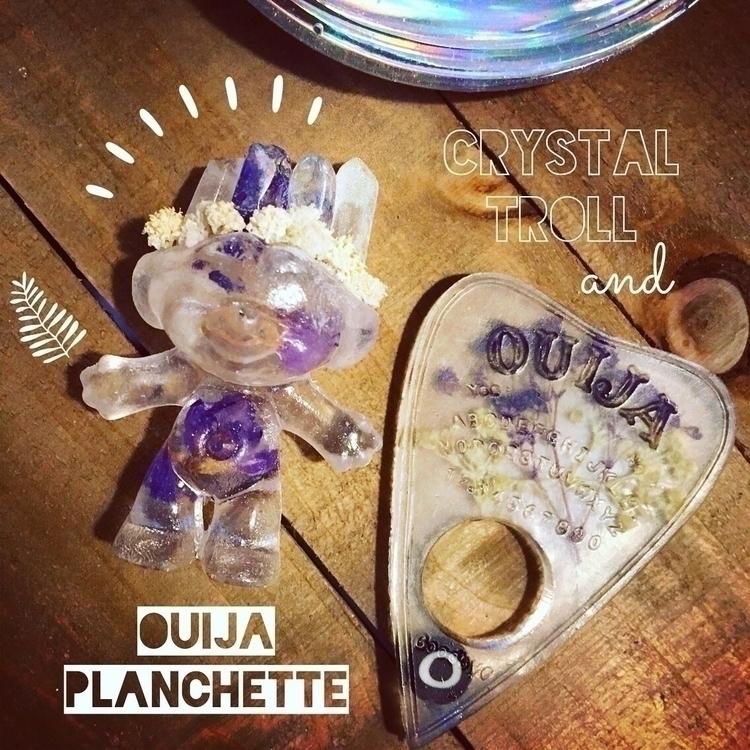 sale-Crystal Troll Ouija Planch - mcognetta   ello
