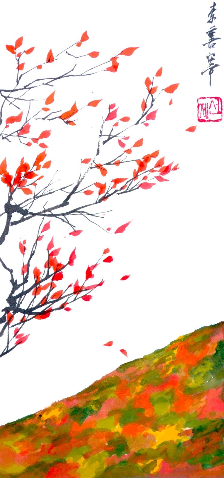 Fall coming - eugenesunjae | ello