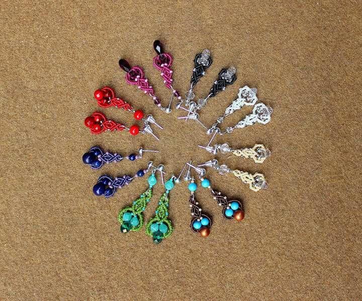 Minimalism earrings - minimalist - macrame_birbyzossleptuve | ello