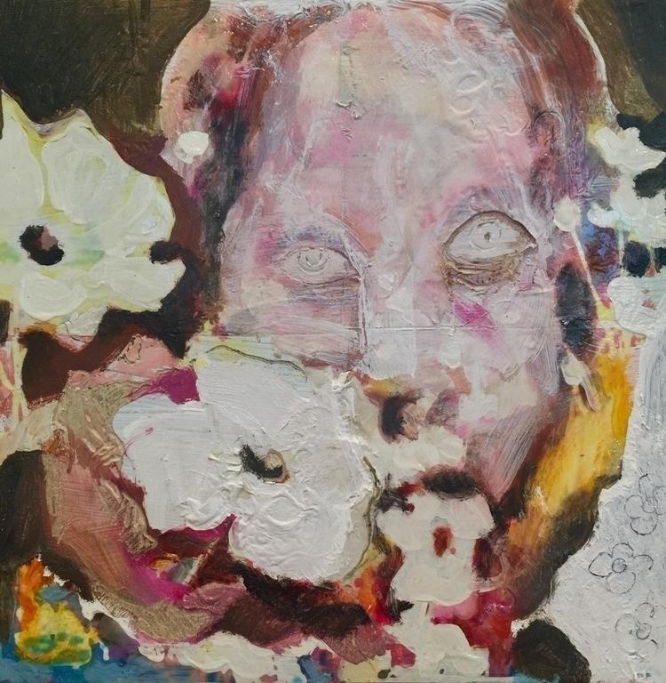 Happy - painting, portrait, contemporaryart - shucht | ello