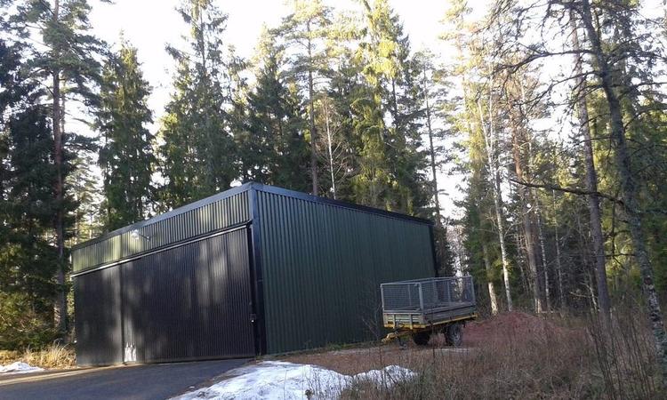 Maskinhallen, Skogskyrkogården  - skogskyrkogardar | ello