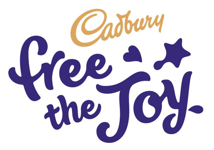 Cadbury Free Joy logo - robclarketype | ello