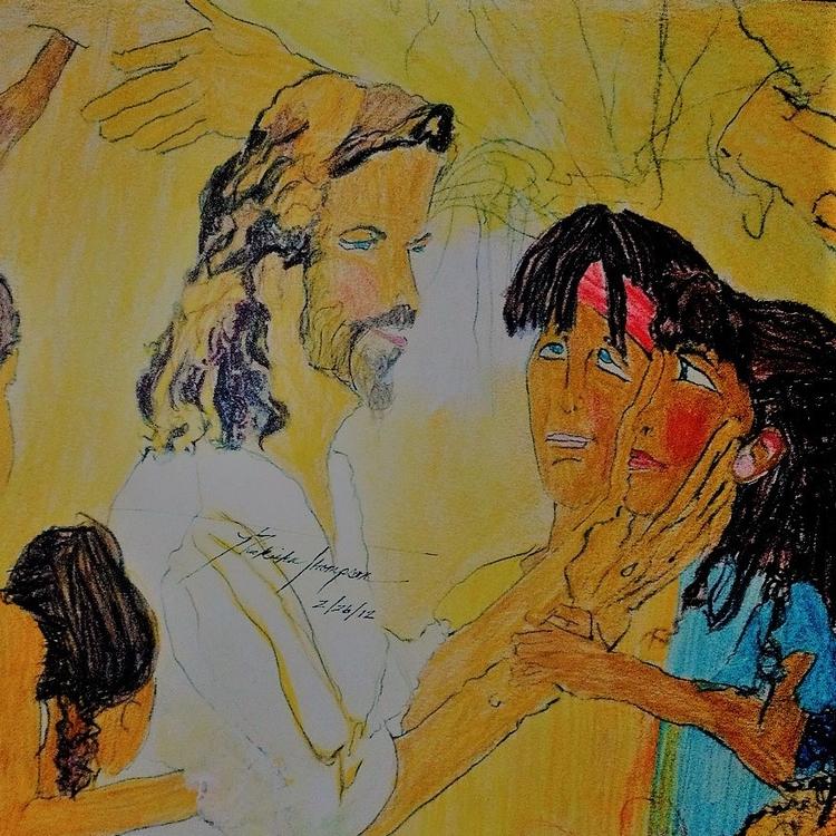 Jesus children - loveartwonders | ello