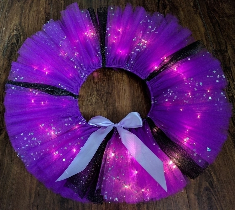 Black purple sparkle tutu!!🖤:pu - jazzygdesigns | ello