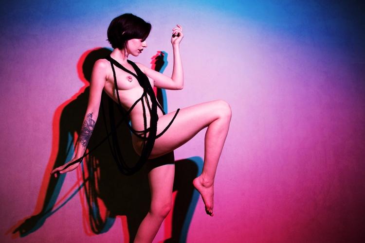 Photographer:Mark Kelly Rope s - darkbeautymag | ello