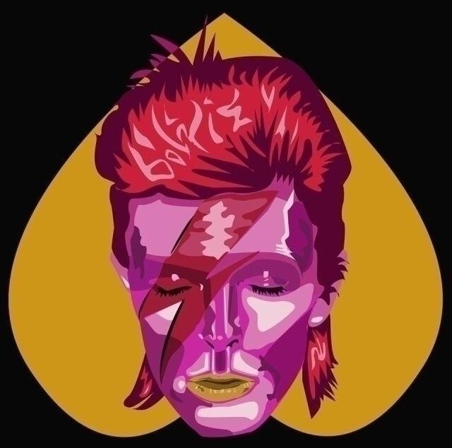 Bowie - rhalik lunadetta - graphic - rhaliklunadetta | ello
