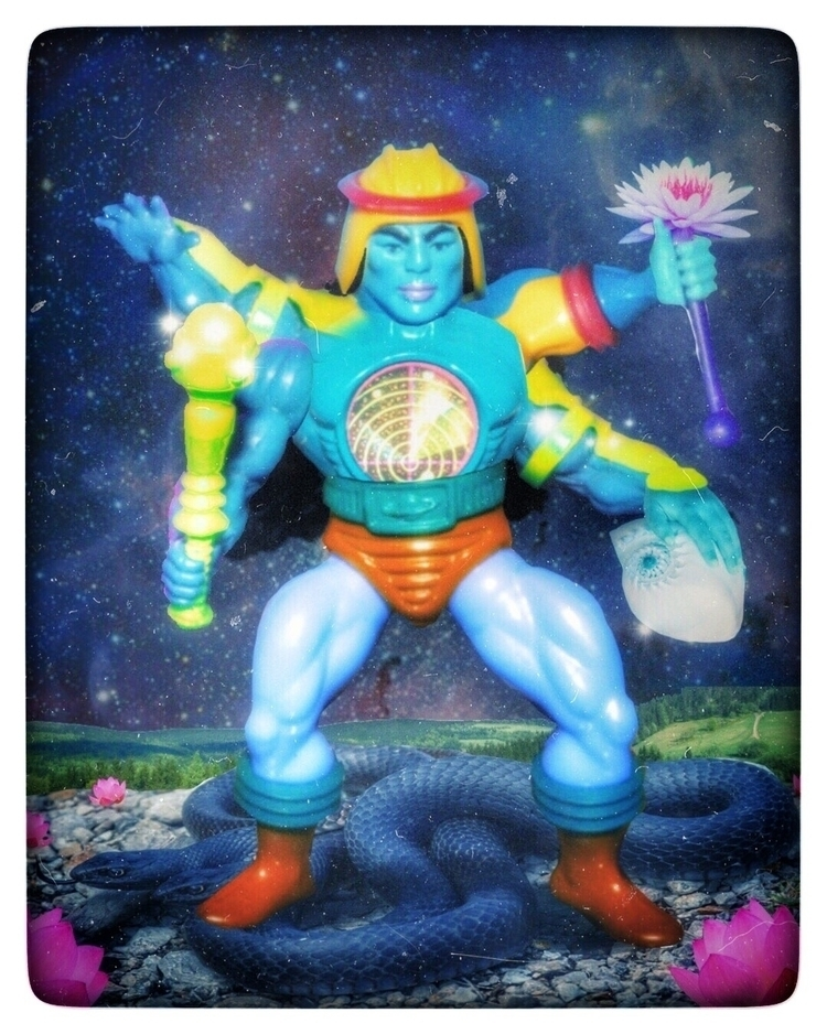 MOTUVISHNU - MOTU, Vishnu, weirdart - arbel420aka | ello