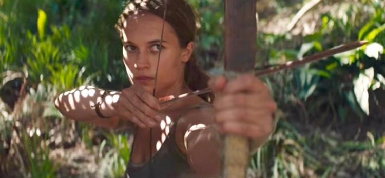 Tomb Raider movie trailer Check - bonniegrrl | ello