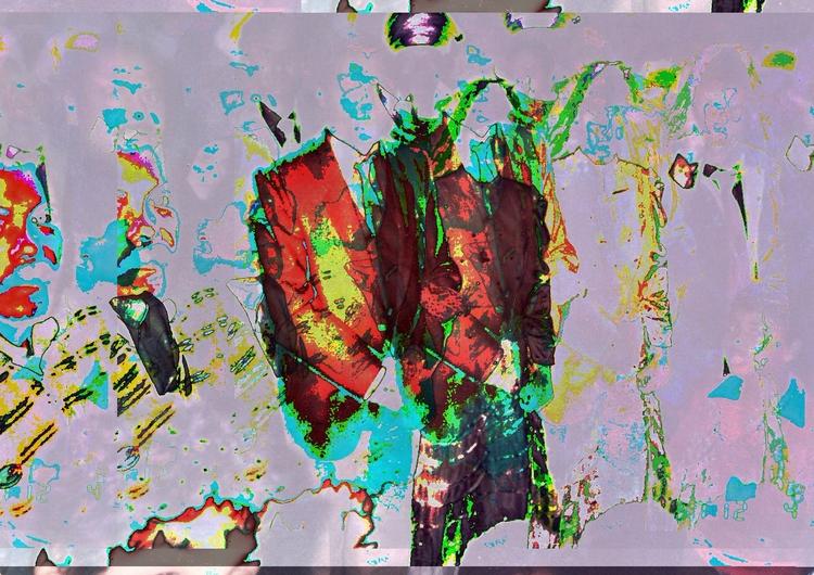 Glitch, Art, Experimental, Databending - ahmadragab | ello