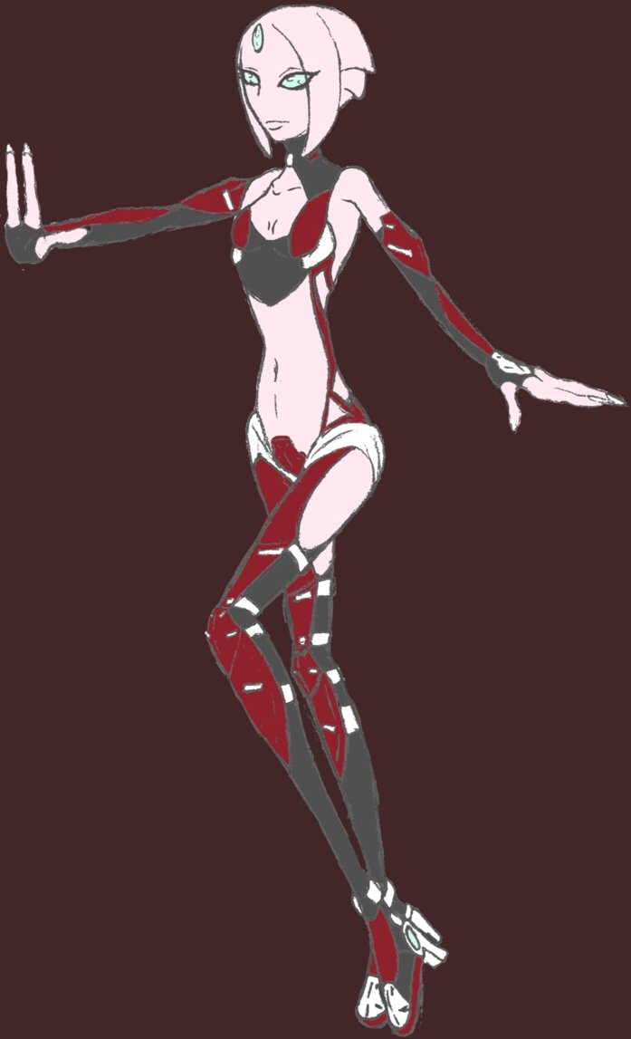Galaxia, alien character 20 yea - lylatroid | ello