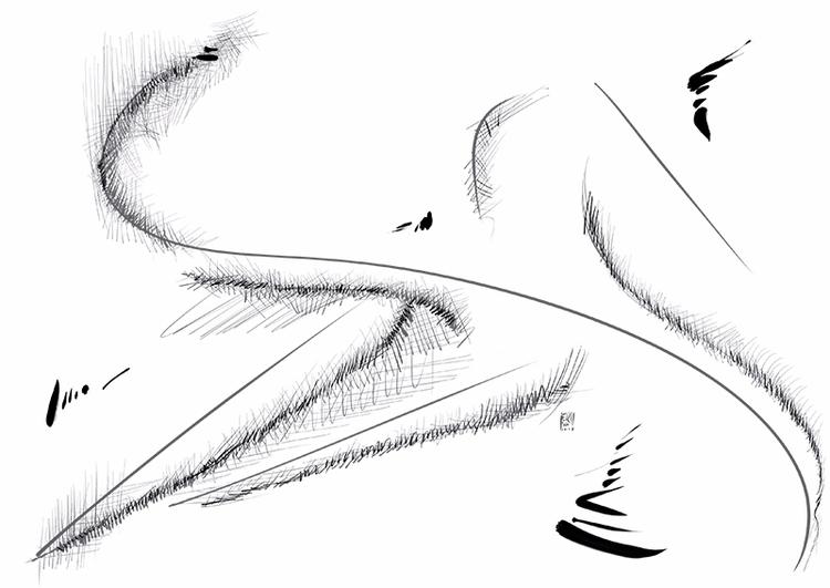 Paisaje abstracto 13 - abstractart - erisado | ello