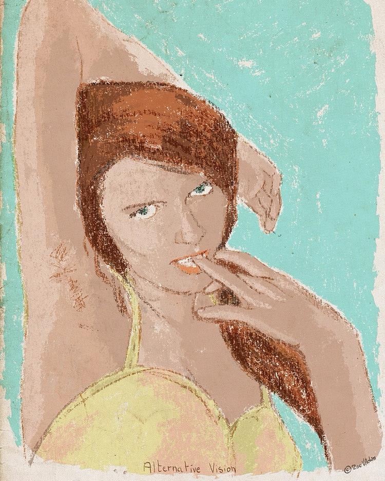 Alternative vision - artwork, illustration - zoe_vadim   ello