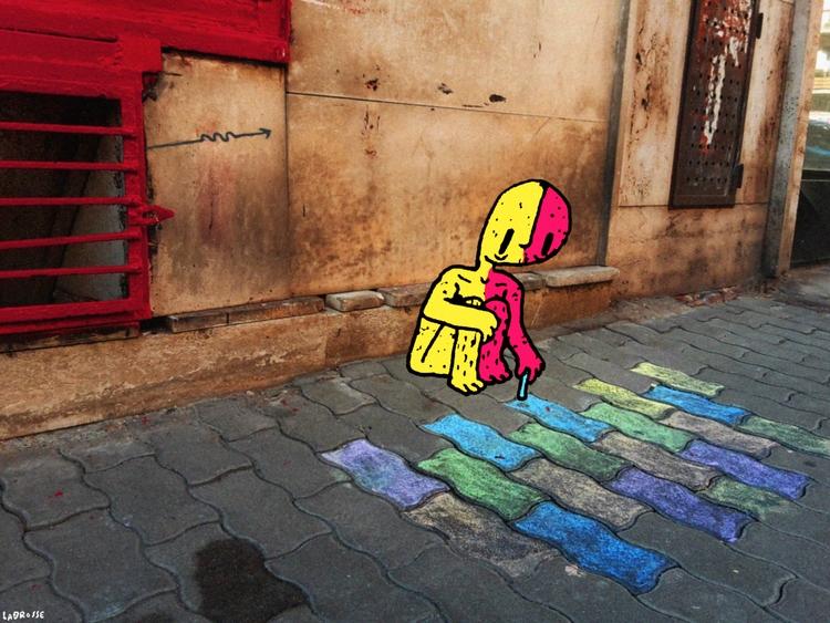 Chalkboy 2015 / Digital Composi - labrosse | ello