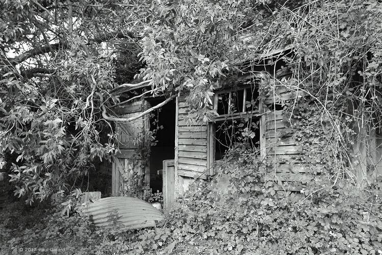 shed - 001 - blackandwhite, photography - paulgillard | ello