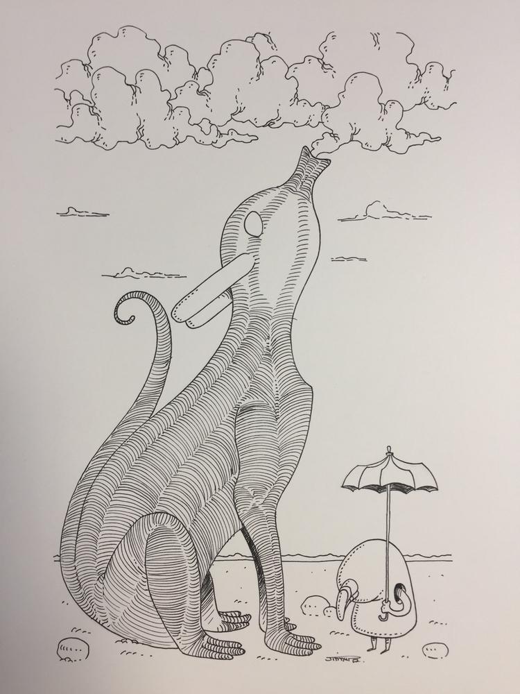 Nuage / cloud :cloud:️ - illustration - jimmy-draws | ello