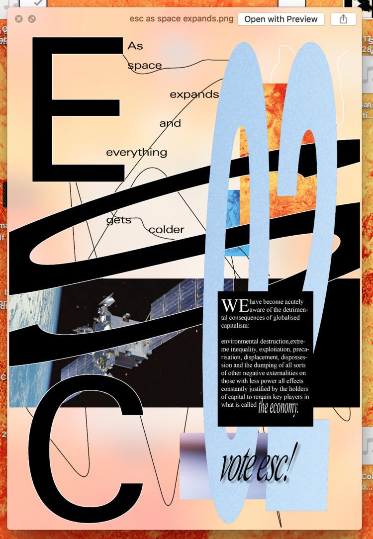 european space commuists - poster - fabiantombers | ello