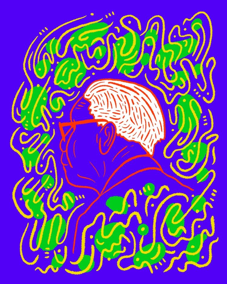 Night Watch - illustration, illustrator - heybop | ello