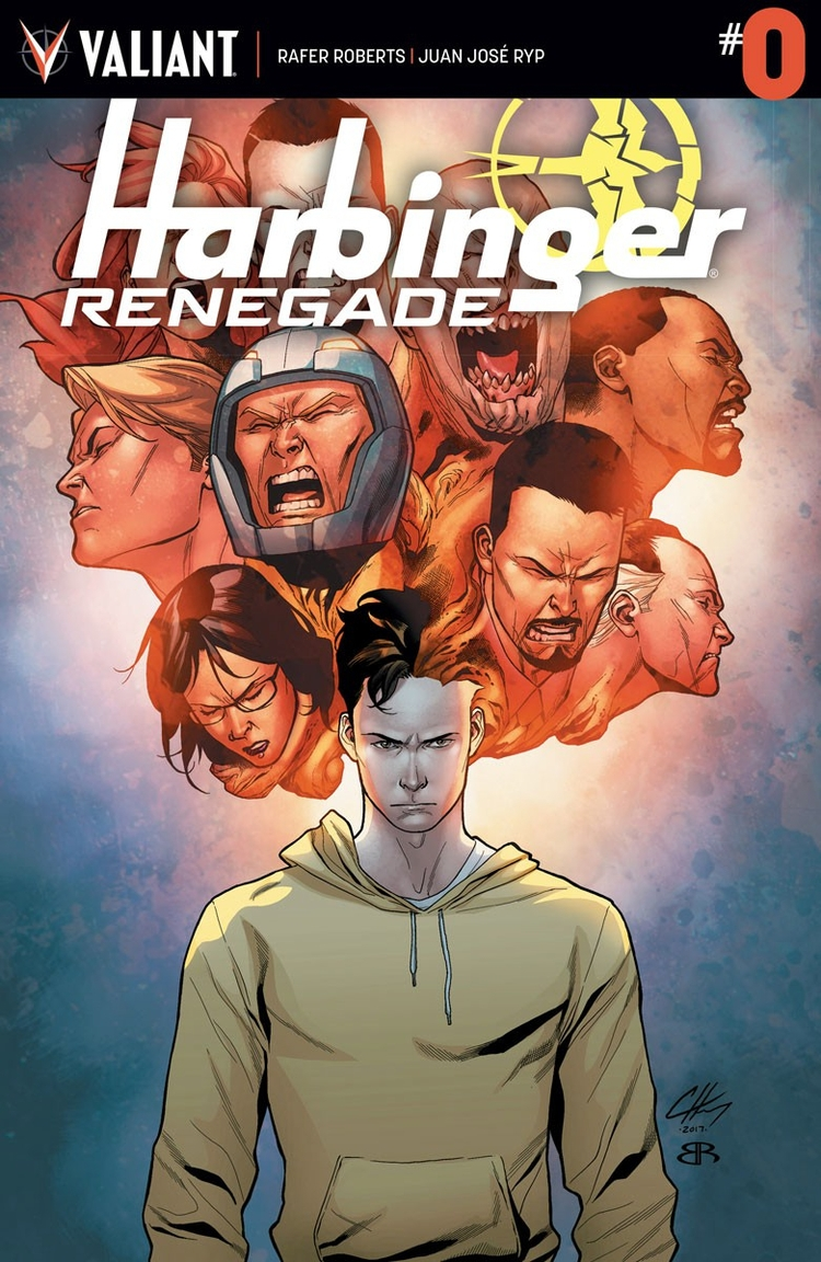 Harbinger Renegade Preview - comicbuzz | ello