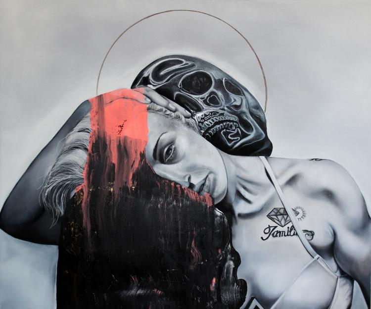 portrait black skull /// ///mix - fede_poletti | ello