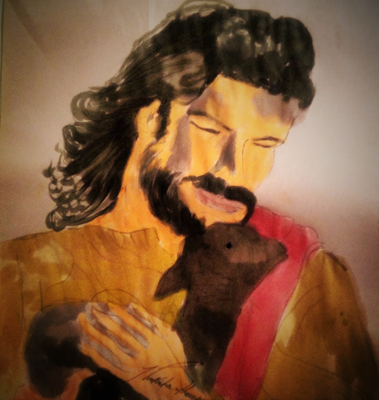 Carry Jesus Light World Heaven  - loveartwonders | ello