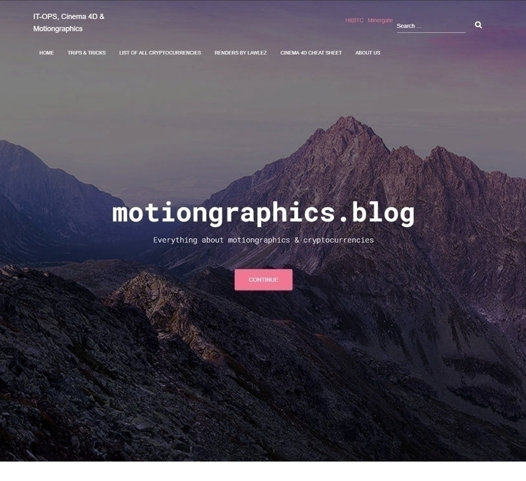 redesigned blog, check - motiongraphics - lawlez | ello