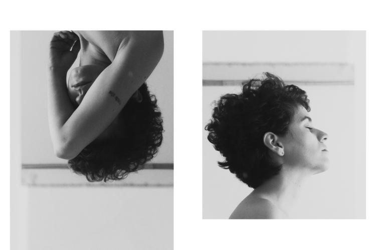 selfportrait, photography, blackandwhite - treveo | ello