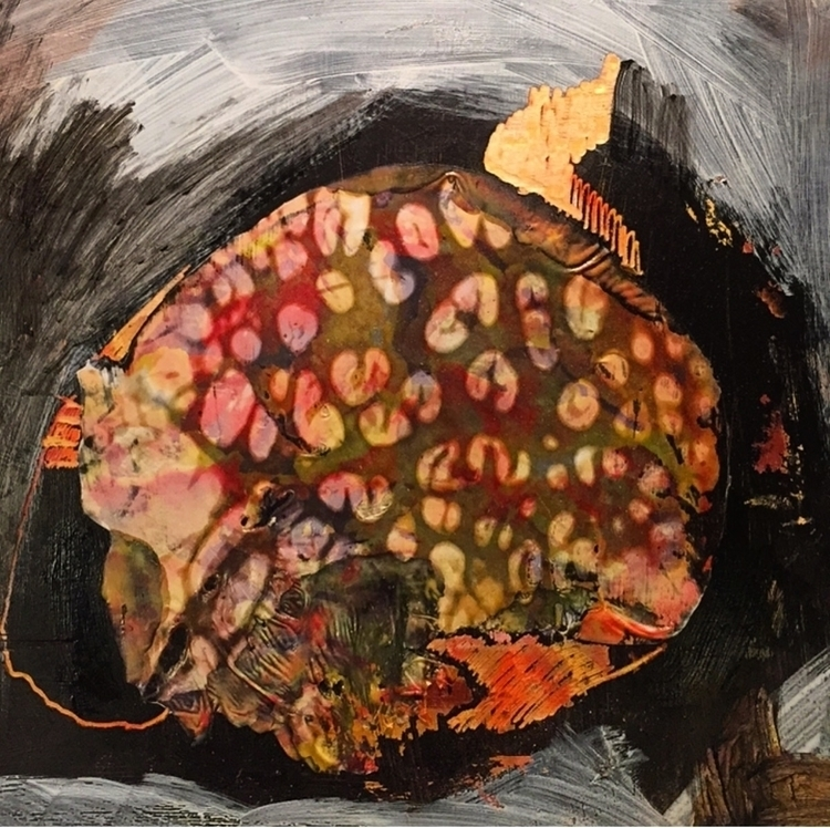 Rotten Pom - art, painting, mixmedia - shucht | ello