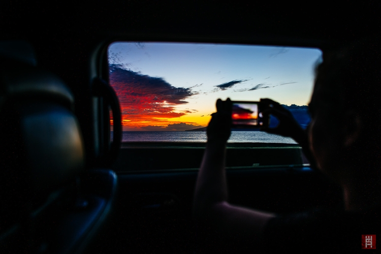 Sunset Maalaea Bay, Maui — fina - seanmolin | ello