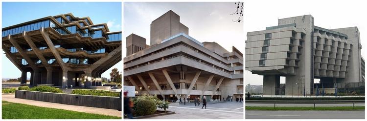 Top 16 Brutalist Built Early te - architecturesideas | ello